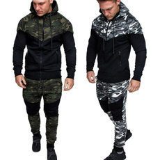 Fashion, sport pants, camouflagesuit, Men