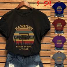 Plus Size, Shirt, Sleeve, strangerthings3