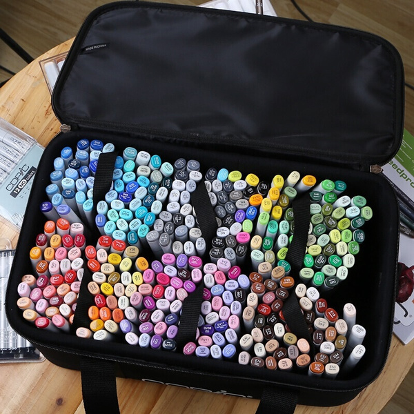 Markers Set 24/30//40//60/80 Color Copic Markers Sketch Set For Manga Design Double Head Brush Pen For School Art Supplies Design Marker by Wish