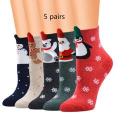 womensock, Christmas, adultsock, shortsock