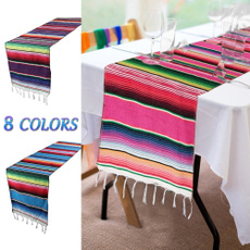 Tassels, Colorful, Mexico, Blanket