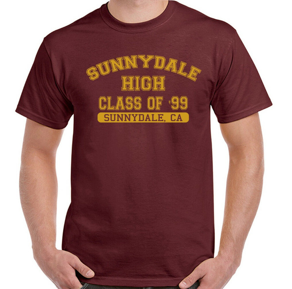 Sunnydale High Class Of /'99 Mens Funny Buffy The Vampire Slayer Inspired Hoodie