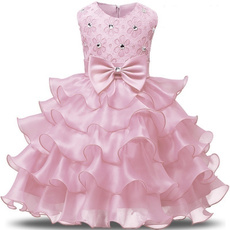 kidslayereddres, gowns, girls dress, Flowers