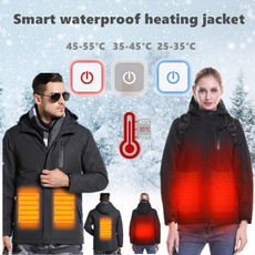 Moda, usb, Waterproof, winter coat
