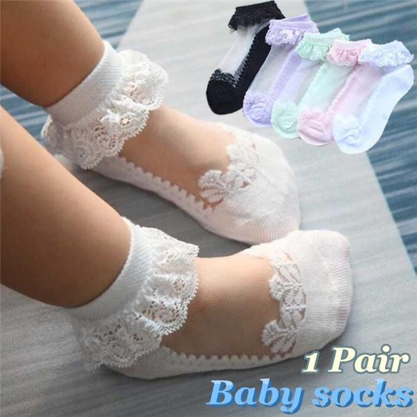 Cotton, Cotton Socks, babysock, Lace