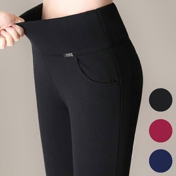 trousers, high waist, pants, stretch