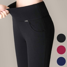 trousers, high waist, pants, stretch