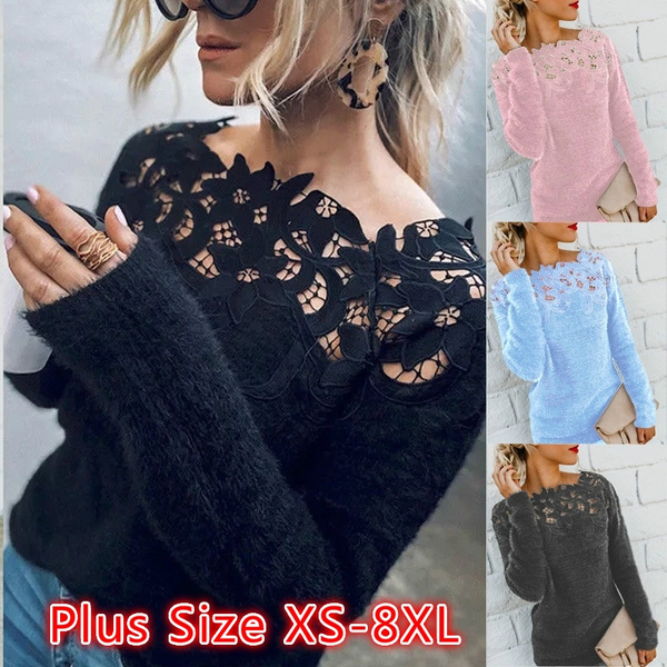 Women Sweater, Lace, sweater coat, black lace
