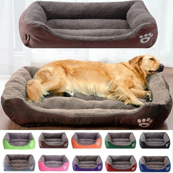 Stupendous New Pet House Dogs Bed For Small Medium Large Dogs Waterproof Bottom Soft Fleece Warm Cat Bed Sofa House 11Colors Size S Xl Andrewgaddart Wooden Chair Designs For Living Room Andrewgaddartcom
