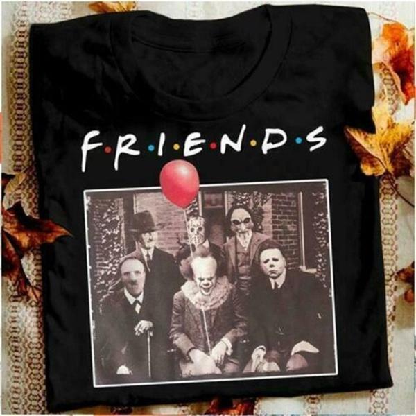 Fashion, tops shirts for women, Shirt, horrorfriend