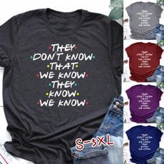 Summer, summer t-shirts, Cotton T Shirt, Sleeve