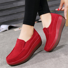 Flats, shakeshoe, Slip-On, Platform Shoes