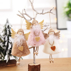 Plush Doll, Angel, doll, Tree