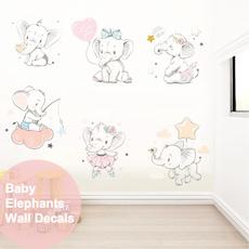 watercolor, Wall Art, Colorful, cute