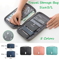 Waterproof, Travel, Credit Card Holder, Storage