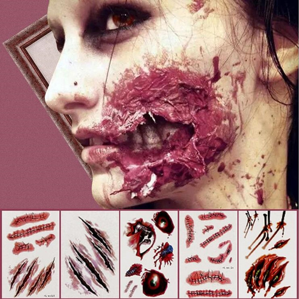 tattoo, scaryhalloweensticker, Halloween Costume, Horror