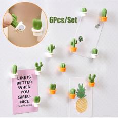 Stickers, succulent, Plants, fridgedecoration