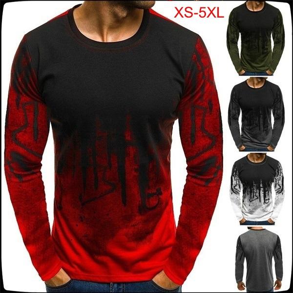 Fashion, camouflageprint, Fitness, Long Sleeve