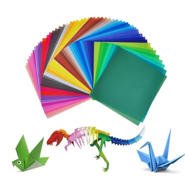 💋💋Folding Double Sided Coloured Paper-cut Material 15*15cm ... | 600x600