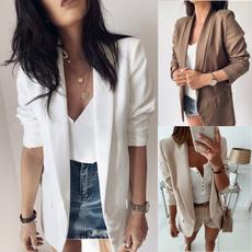 Jacket, cardigan, Blazer, Long sleeve top