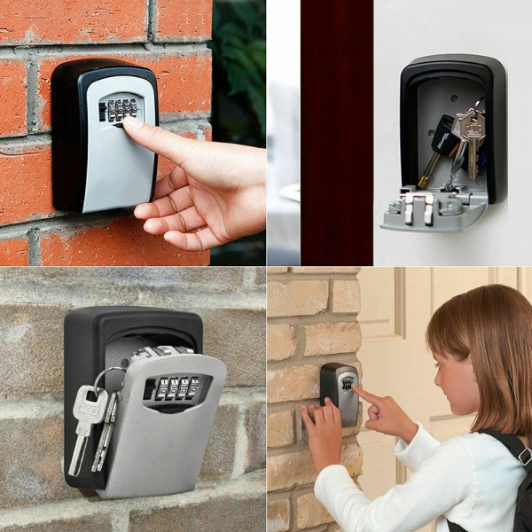 Box, Wall Mount, keybox, keysafebox