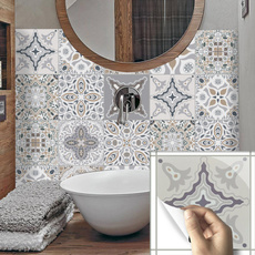 Bathroom, stair, floor, walldecoration