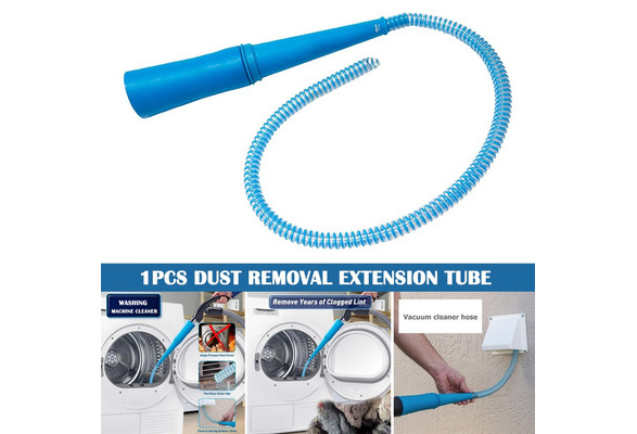 Vent Vacuum Hose Removes Lint Dust Portable Cleaning for Washer Dryer Home xfz