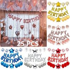 latex, Aluminum, birthdayballoon, Wedding Supplies