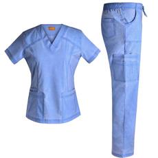 nursingscrubsonsale, multiplepocket, stretchscrubset, Tops