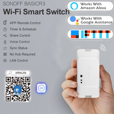 smartswitch, voicecontrol, wifi, homeampliving