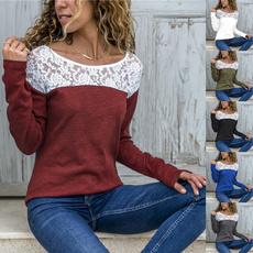 blouse, Autumn, Fashion, Lace