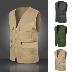 Vest, fishingvest, Men's vest, Photography