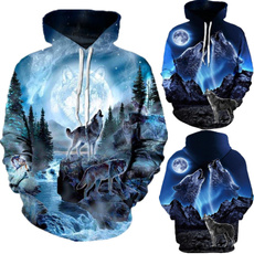 Couple Hoodies, 3D hoodies, Fashion, personalityhoodie