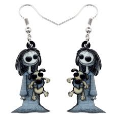 halloweengift, earringsforgirl, Halloween, zombieearring
