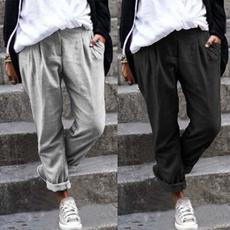 Women Pants, Pocket, harem, Plus Size