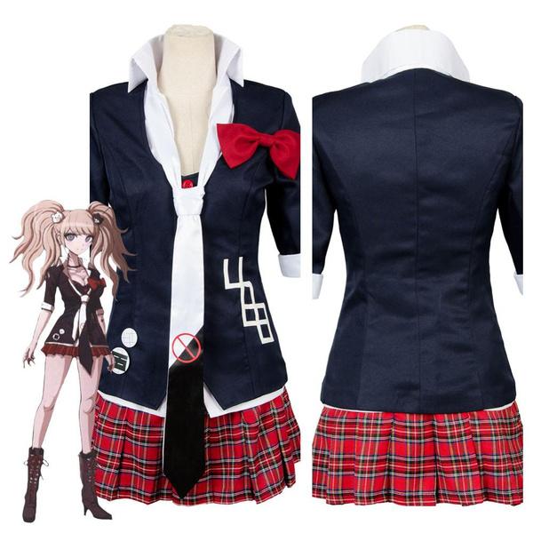 New Danganronpa Dangan Ronpa Junko Enoshima Cosplay Costume outfit dress