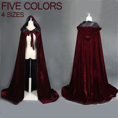Role Playing, Goth, hooded, velvet