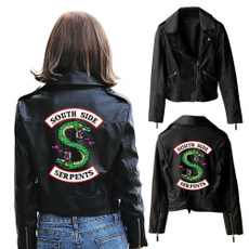 Fashion, serpent, leather, Jacket