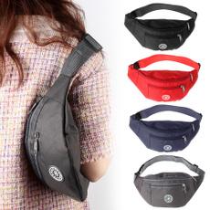 Fashion, Waterproof, Belt Bag, oxfordclothwaistpack