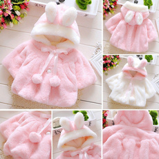Baby Girl, hooded, Outerwear, Coat