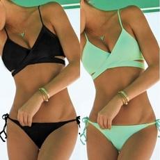 Women, Beach, beach wear, Bikini