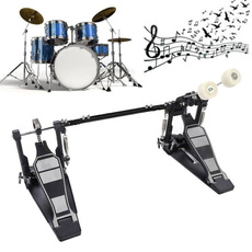 Musical Instruments, Bass, drumset, drumsdoublepedal
