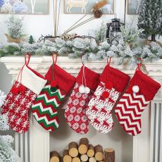 Knitting, Home Decor, Tree, christmasstocking