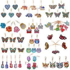 handmadekeychain, DIAMOND, keychian, keychainswomen