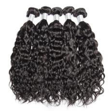 water, hairweft, 4bundleshair, 100% human hair