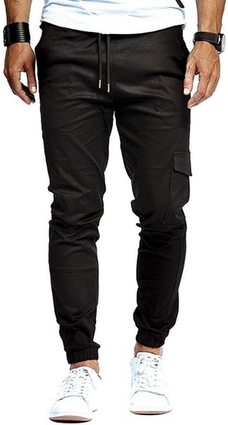 Men's Fashion Casual Slim Sports Pants, Beam Pants