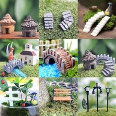 Decor, miniaturegarden, Garden, Dollhouse