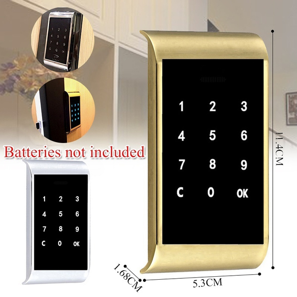 Electronic Touch Keypad Password Key Access Security Digital Cabinet Code Lock