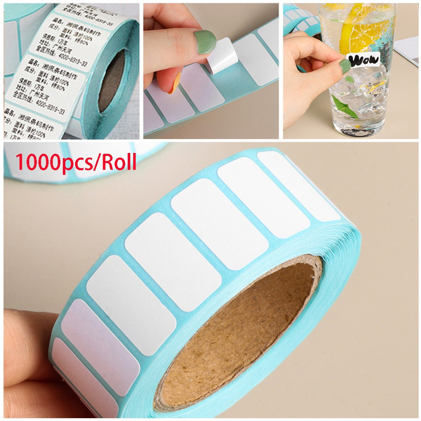 Supermarket Price Cards Waterproof Package Label Adhesive Paper Thermal Sticker
