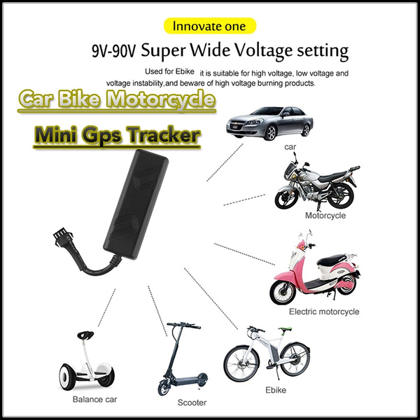 Tk205 Mini Gps Tracker 12v Car Gps Locator Device Used For Bike Motorcycle Tracker Waterproof With Online Tracking Software Wish